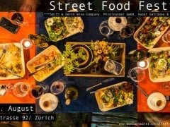 First Street Food Festival in Switzerland in Zurich!