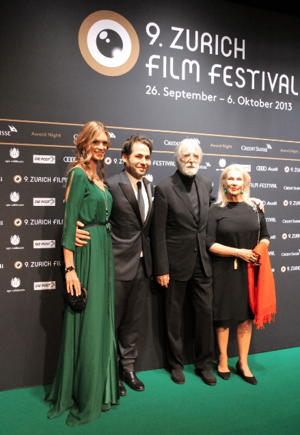 Nadja Schildknecht, Michael Haneke ZFF Awards Night Photo © NewInZurich
