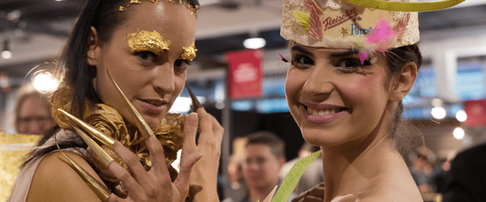 Chocolate Dresses at the Salon du Chocolat 2014 in Zurich